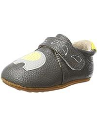 Rose & Chocolat Rcm Zigzag Elephant Grey - Zapatos para bebes Bebé-Niños