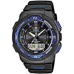 da9277634fc6 Casio Reloj Analógico Digital de Cuarzo para Hombre con Correa de Resina –  SGW-