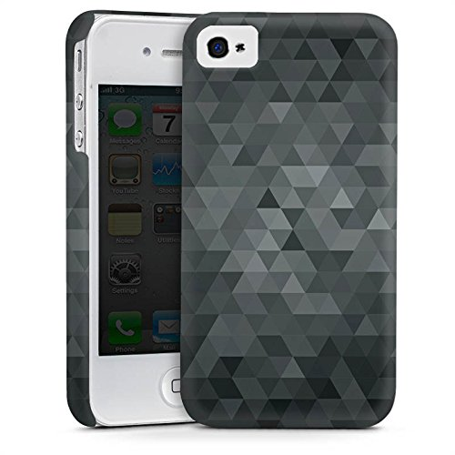 Apple iPhone 5s Housse Étui Protection Coque Triangles Triangles Triangles Cas Premium mat