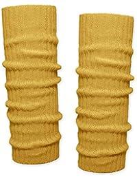 SoulCats® 1 Paar Grobstrick Bein Stulpen unifarben in 7 verschiedenen Farben