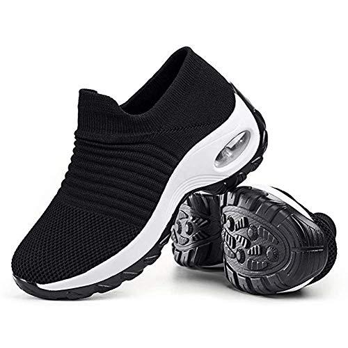 Zapatillas de Senderismo para Mujer, de Malla, Transpirables, para Atletismo, Color, Talla 41 EU