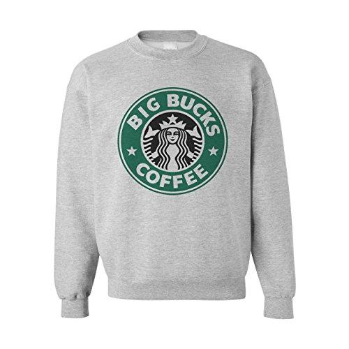 big-bucks-caff-star-felpa-unisex-grigio-medium
