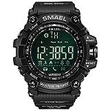 UINGKID Collection Unisex-Armbanduhr Herren Uhren Ultra Dünne SMAEL Herren Smart Watch Bluetooth...