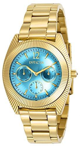 Invicta Damen-Armbanduhr Analog Quarz Edelstahl Beschichtet-23753