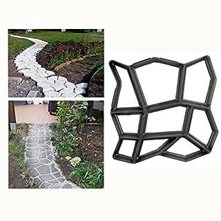Malayas®Betonform Gießform Plastikform Schablone 42.5*42.5*4cm, Für Beton/  Natursteinpflaster
