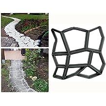 Malayas® Molde para Cemento, Molde para Hormigón, Molde para Hacer Pavimentos, Caminos