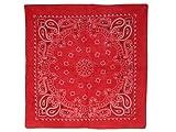 Bandana Zandana rouge 100% Cotton 162