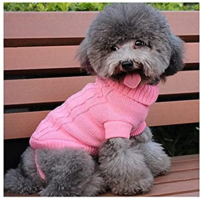 The Cheers Small Pet Warm Sweater Clothes Apparel Costumes Knit Winter Coat For Dog Puppy Cat