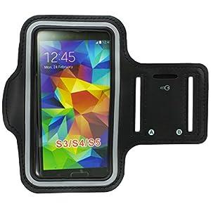 Zooky® Sport Armband Tasche Armtasche Sportarmband für Samsung Galaxy S3 (i9300) / S3 Neo (I9301I) / S4 (i9500) / S5 (i9600) / S6 / M7 / M8 / M9