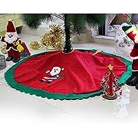Velishy árbol de la falda de decoraciones de Navidad (TM) de Navidad