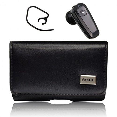 King-HighTech Pack Gürteltasche horizontal magnetisch + Bluetooth Headset für Samsung Galaxy S3Slim