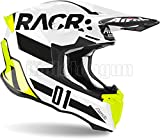 AIROH TW2RA17 CASCO MOTO CROSS LUCIDO TWIST 2.0 RACR TG.XL