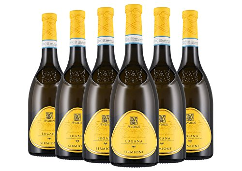 Lugana Sirmione DOC 2018 - Avanzi - 6 x 0,75 l. - Italienischer Wein - Veneto - Italien