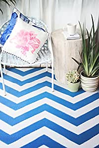 Fab Hab Reversible Outdoor Indoor Rug Perfect For