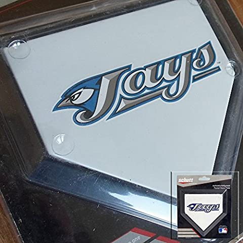 2 x Toronto Blue Jays Authentic Hollywood Pocket Home Plate