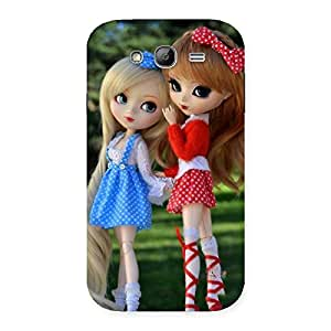 Delighted Sister Doll Multicolor Back Case Cover for Galaxy Grand
