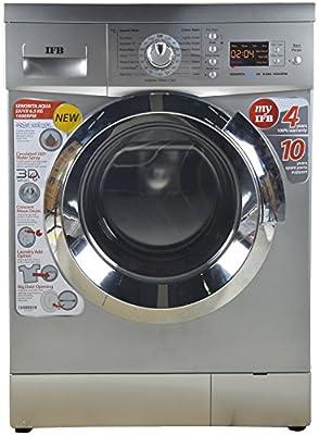 IFB 6.5 kg Fully-Automatic Front Loading Washing Machine (Senorita Aqua SX , Silver)