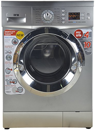 IFB 6.5 kg Fully-Automatic Front Loading Washing Machine (Senorita Aqua...