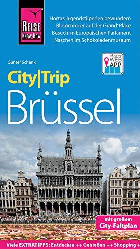 Reise Know-How CityTrip Brüssel: Reiseführer mit Stadtplan und kostenloser Web-App