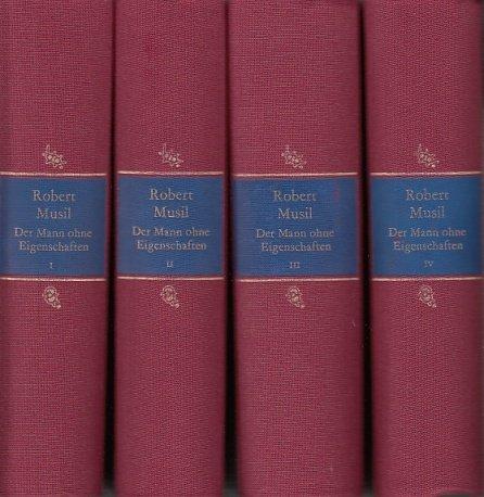 Der Mann ohne Eigenschaften  (ex libris Band 3 von 4) (ex libris)