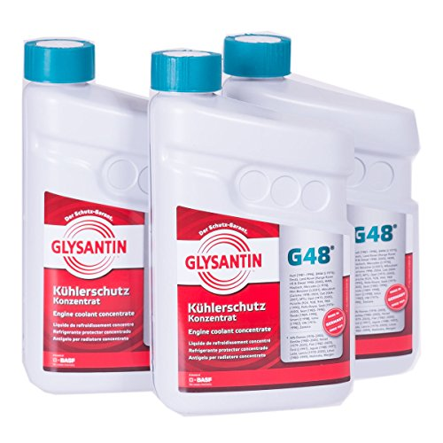 Glysantin G48 - Concentrated protective refrigerant, 1,5 L, 3 units, bluish green