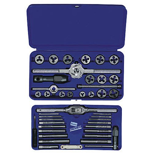Irwin / Hanson / Vise Grip (IRW26317) 41 pc. Metric Hex Tap & Die Super Set by Hanson