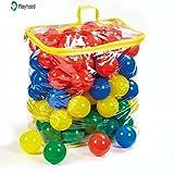 #2: Playhood 100 Fun Colorful Balls Big Size - 8cm Diameter