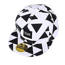Gorra de béisbol unisex de tamaño ajustable con cierre trasero, para