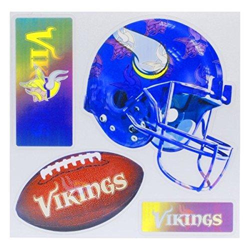 Brax NFL 3D Multi Magnet (1 Stück) 29,5 x 25,4 cm weiß, weiß, 11.5 x 10-Inch -
