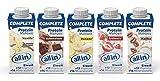 allin® COMPLETE Protein Mahlzeit 14x 200 ml Milch-Basis 5 Sorten: Vanille, Schokolade, Banane. Erdbeere, Kaffee