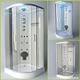 Troni Technology Corner Shower Enclosure Glass Shower Shower Temple Complete Shower S090XI2KG0290x90