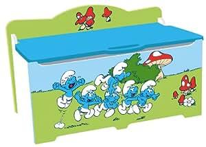 Cassapanca portagiochi i puffi giochi e giocattoli for Cassapanca x bambini