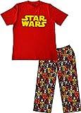 Herren - Classic Star Wars Pyjama Set aus 100% Baumwolle (Groß, Multi)