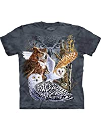 "The Mountain T-Shirt ""Find 11 Owls"" Gr.L"