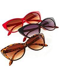 Set 2-3-4 Pair Occhiali Da Sole Specchio Gafas De Sol Hombre Mujeres Style Pilot Ojos De Gato Romens Ltd