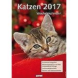 Wochenkalender - Katzen 2017