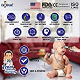 Dr Trust Infrared Forehead Temporal Artery Thermometer with Color Coded Fever Guidance