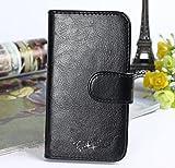 Prevoa ® 丨Flip PU Case Schutzhülle Tasche für JIAYU S3