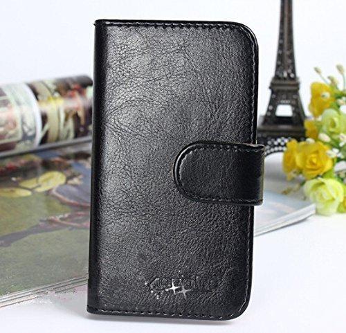 Prevoa ® 丨Flip PU Case Schutzhülle Tasche für JIAYU S3 / S3 Advanced 5.5 Zoll Smartphone - (4)