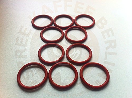 10 x SKB O-Ring für den Kolben der Saeco Brühgruppe 38x4