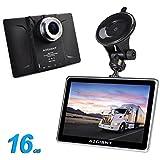 """AZGIANT 7"""" pouces multifonctions camion GPS DVR SAT Tablet Android système d'exploitation 16 Go"""