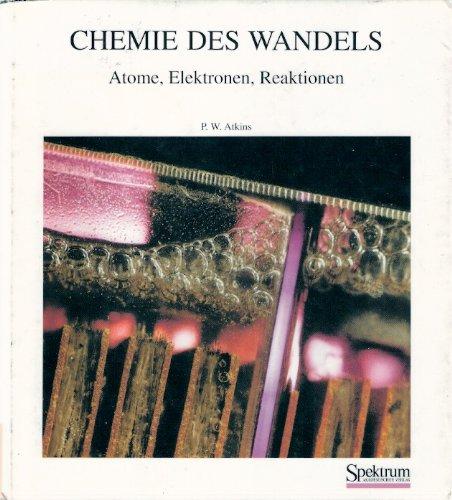 Buchcover: CHEMIE DES WANDELS
