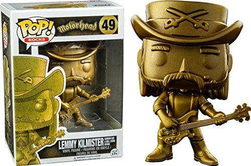 Motörhead Lemmy Kilmister Rocas (Oro) Vinilo Figura 49 Figura del coleccionista Estándar