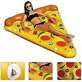 Ancaixin Gigante Colchoneta Flotador Hinchable con forma de Pizza 180*150cm
