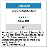 newgen medicals Laufband LF-203.mini mit 3 Sport-Programmen, zusammenklappbar - 6