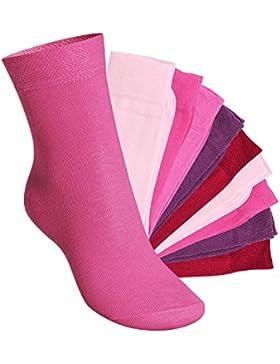 footstar EVERYDAY! KIDS - Kinder Socken für Mädchen und Jungen - 10 Paar - Viele trendige Farben - Größen 35-50