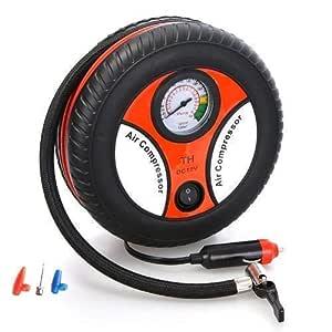 IMPREX INFRA Portable Electric Mini DC 12V Air Compressor Pump for Car and Bike Tyre Tire Inflator