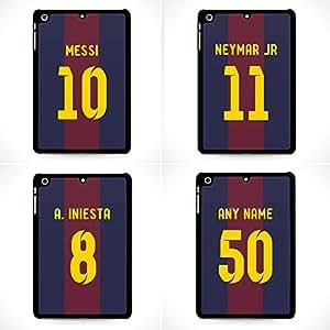 Numéro et nom personnalisé FC Barcelone FCB Barca iPad Mini Retina 2, 3Étui Housse–icasecreatives
