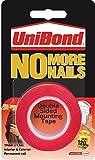 3X Unibond No más Clavos Permanente Rollo - 19 mm X 1,5 M Cinta de Montaje