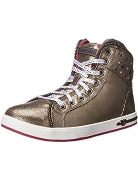 Skechers Shoutouts-Zipsters, Zapatillas de Deporte para Niñas